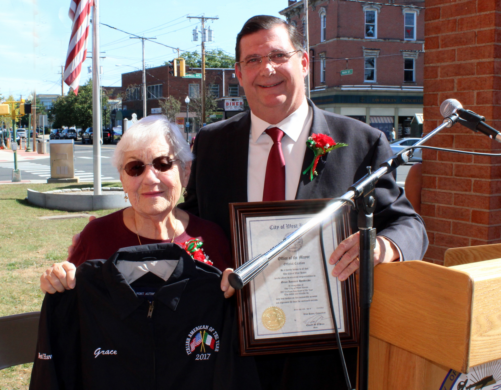 Hendricks feted as city's Italian of the Year
