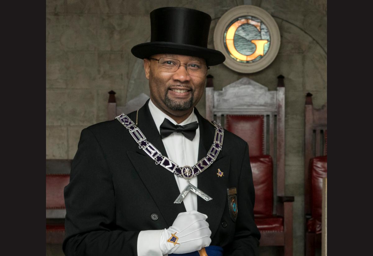 Mullins elected Lodge Master