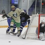 Knights' cagers sweep; skaters top WH