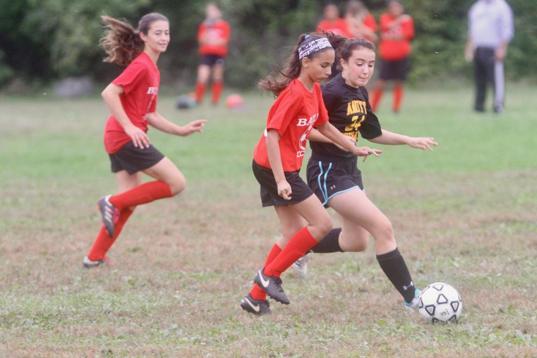 Junior high soccer