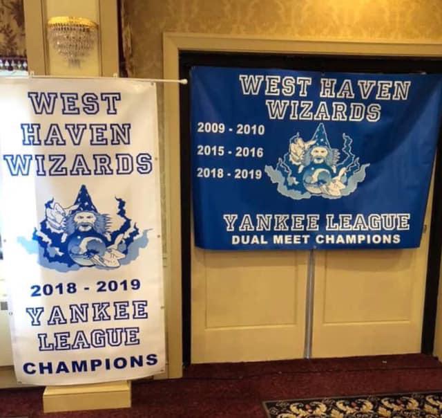 Wizards celebrate Yankee crown