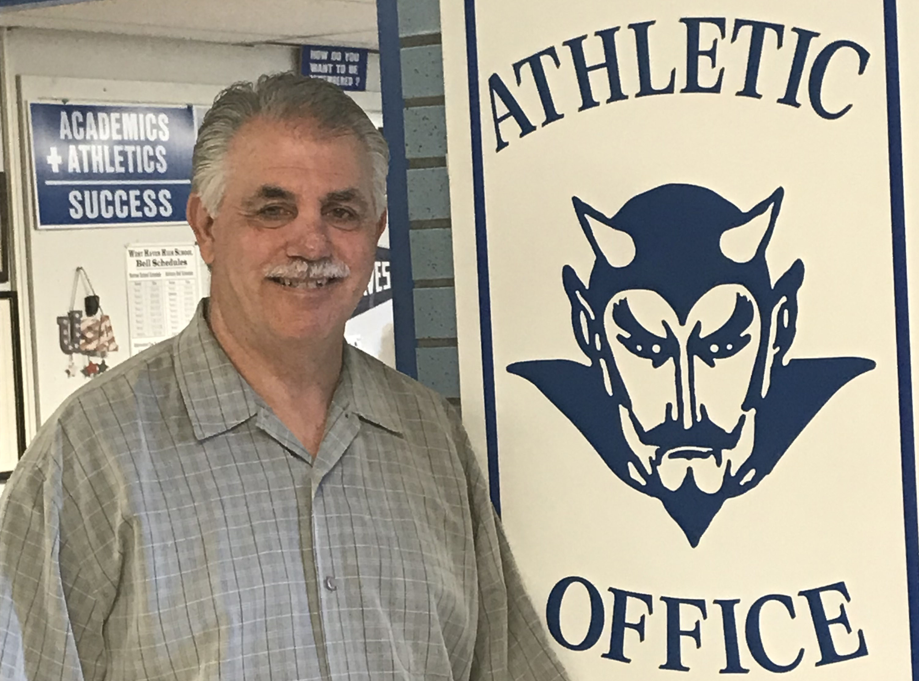 Voice profile featuring Jon Capone, WHHS AD