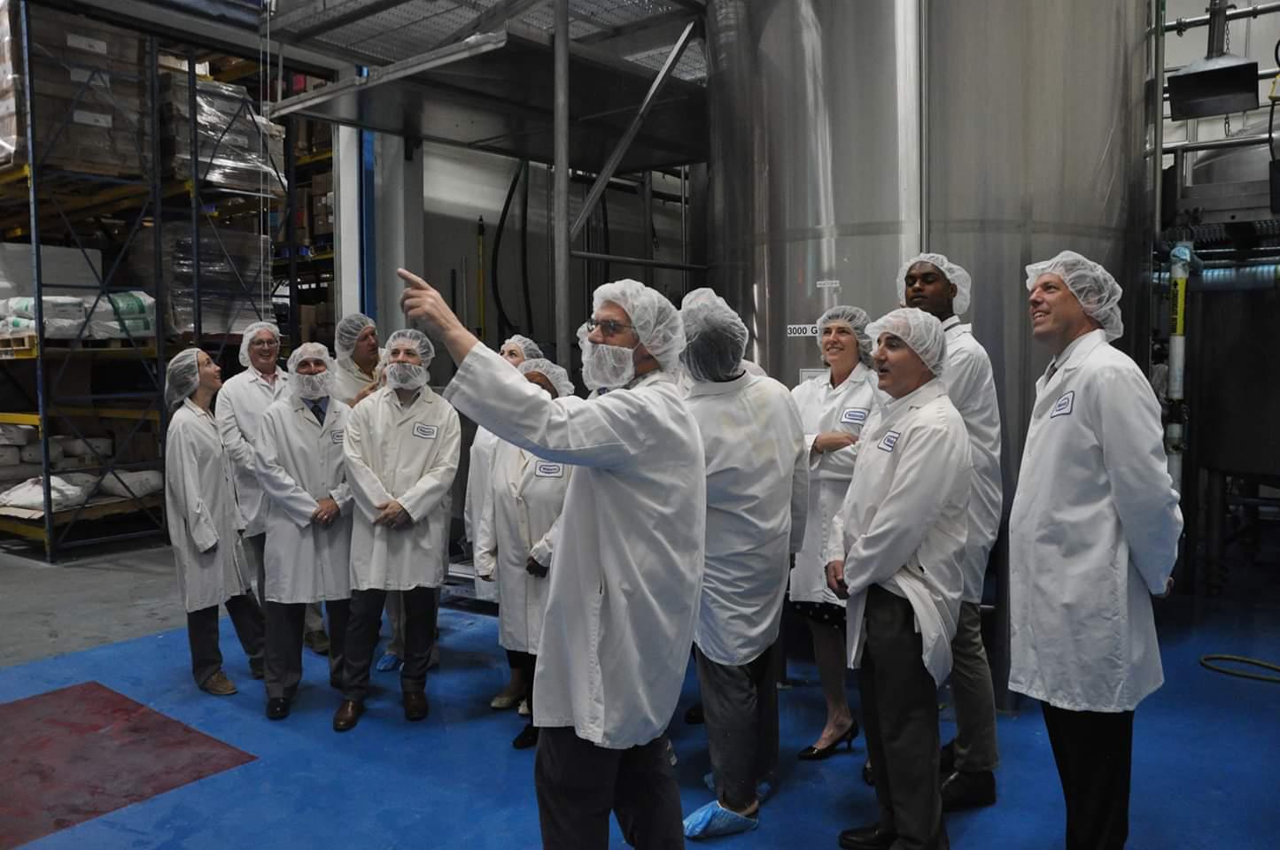 Tour of Watson facility