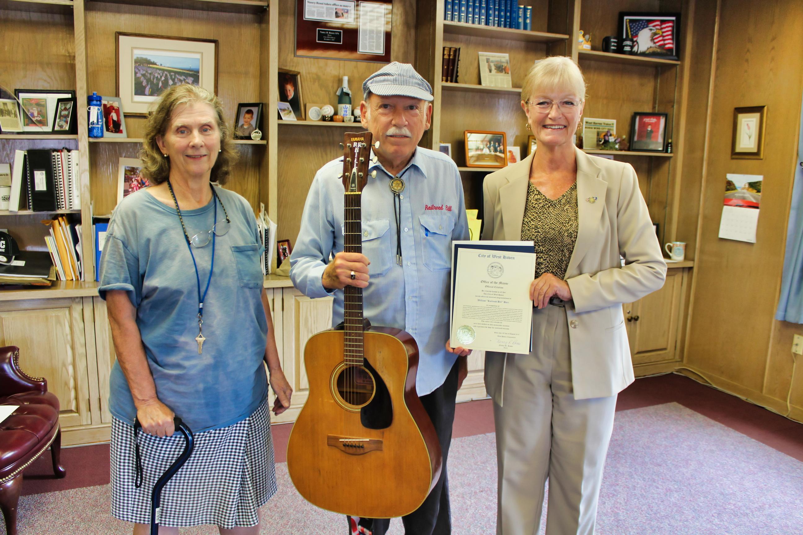 Barr named first troubadour