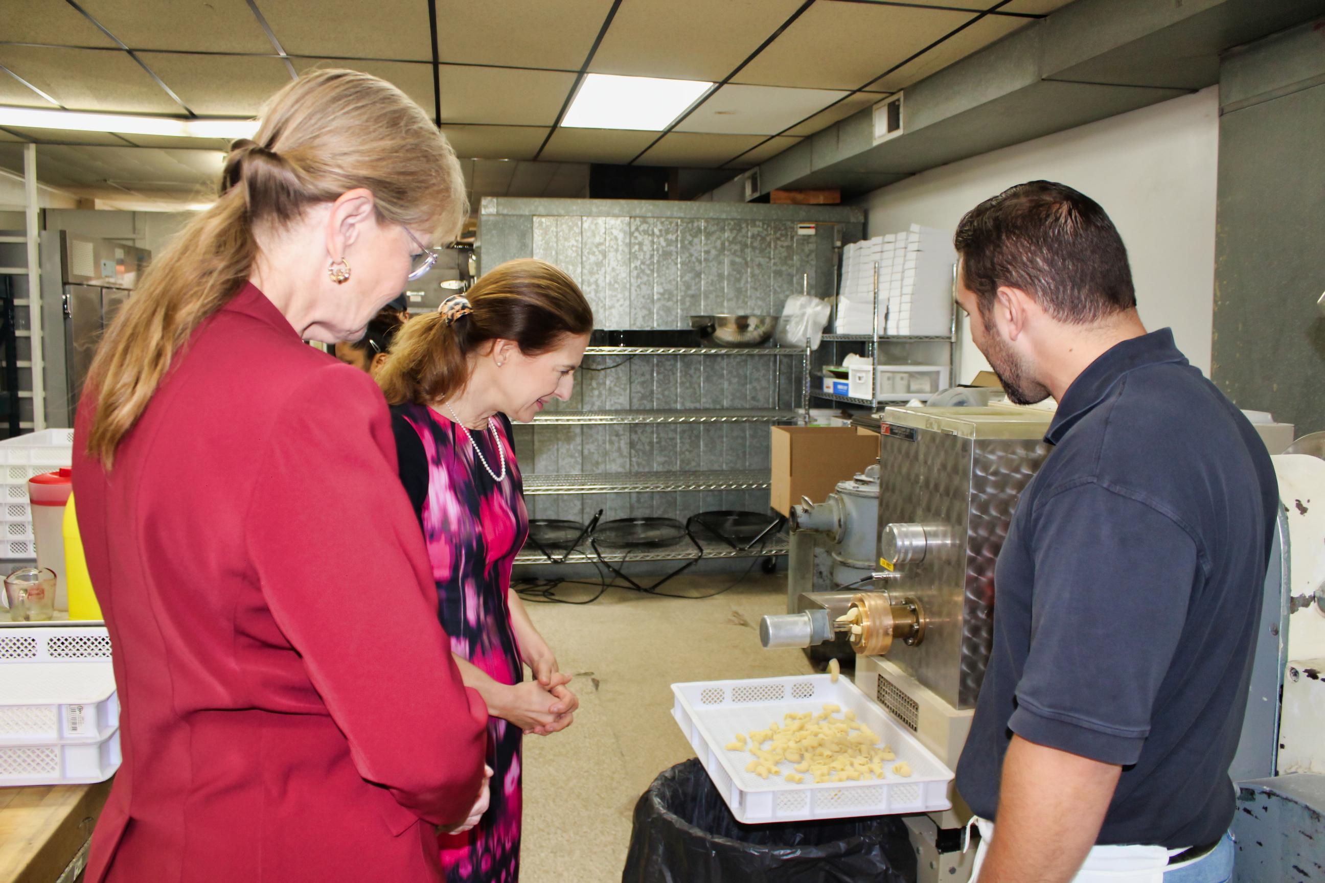 Officials tour Allingtown businesses