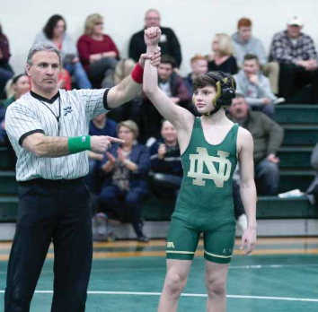 Knights' grapplers top Law