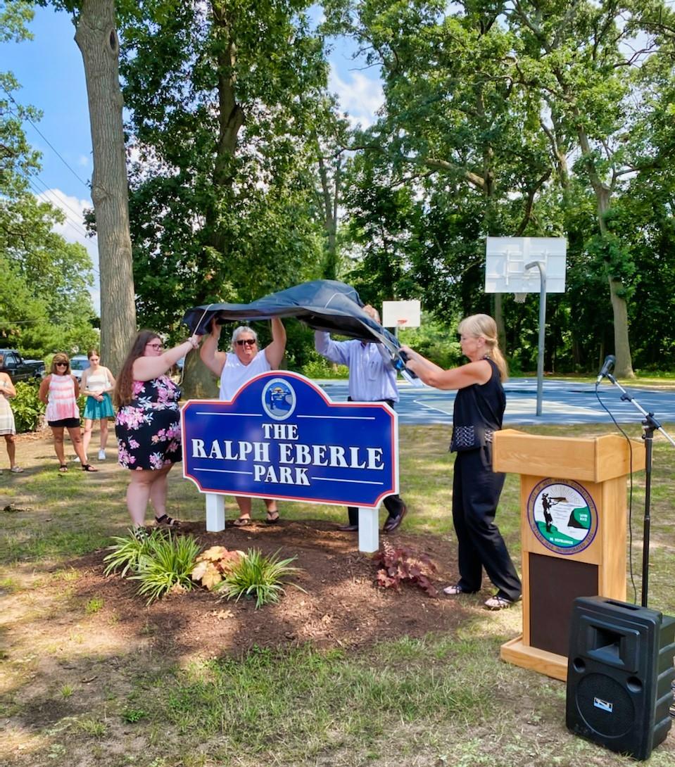 Ralph Eberle Park honors former councilman