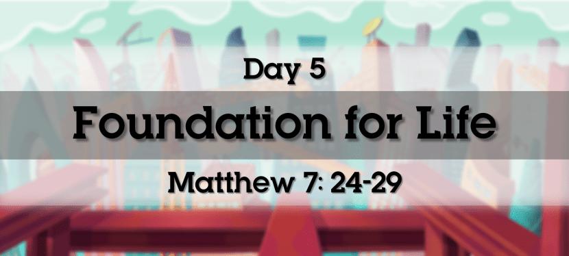 Day 5 – 1st & 2nd Grade