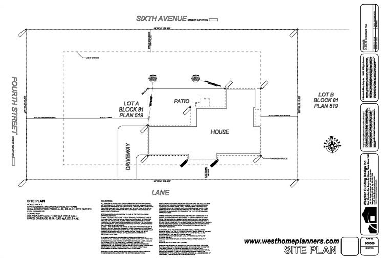 Home, Garage And Floor Plans, Blueprints By