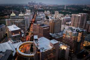 Texas Medical Center Aerial for Westin Houston Medical Center