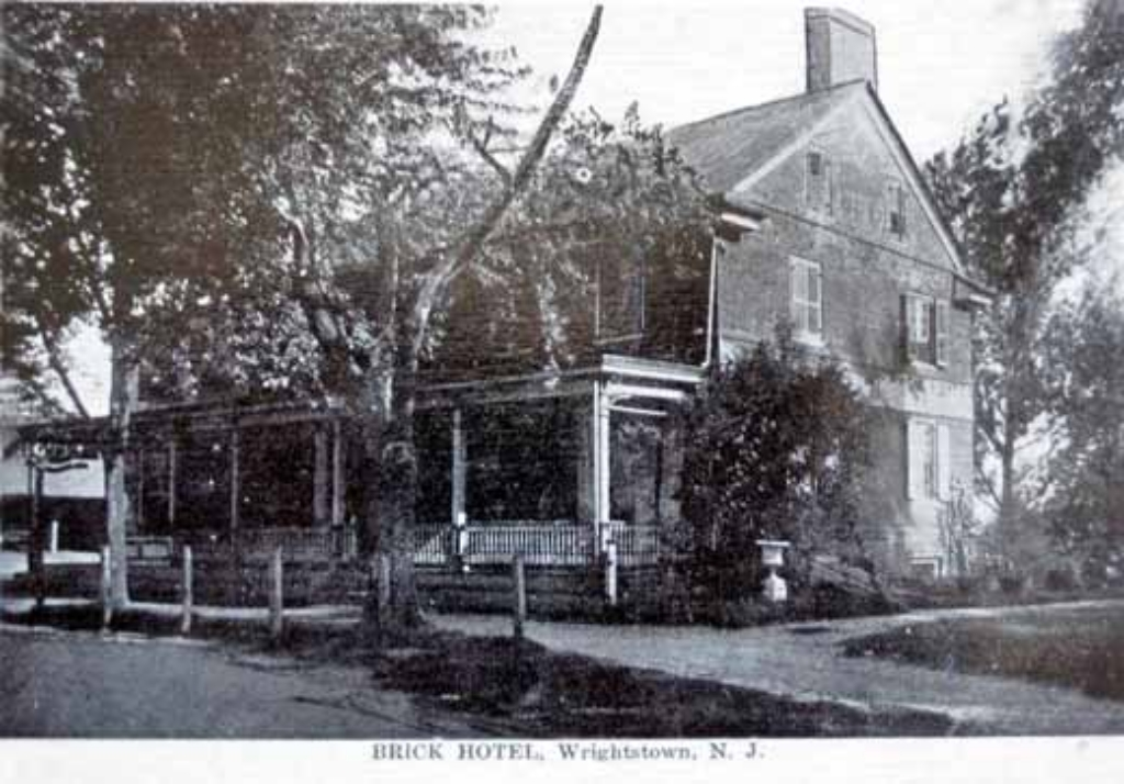 Historic Images Of Burlington County NJ Wrightstown