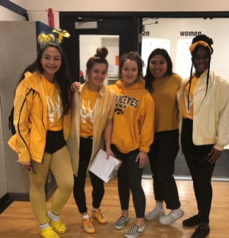 Great spirit for colour day!
