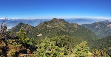 Looking back towards Portman's Notch and Kootenay Lake