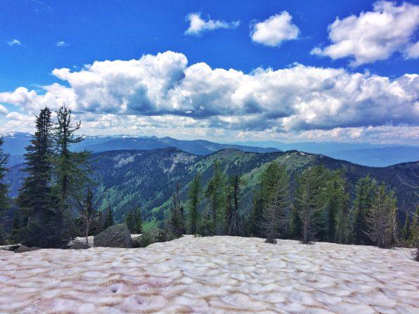 View towards Toad Mountain