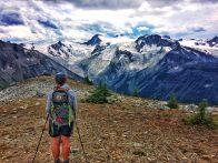 Looking at Horseshoe Glacier