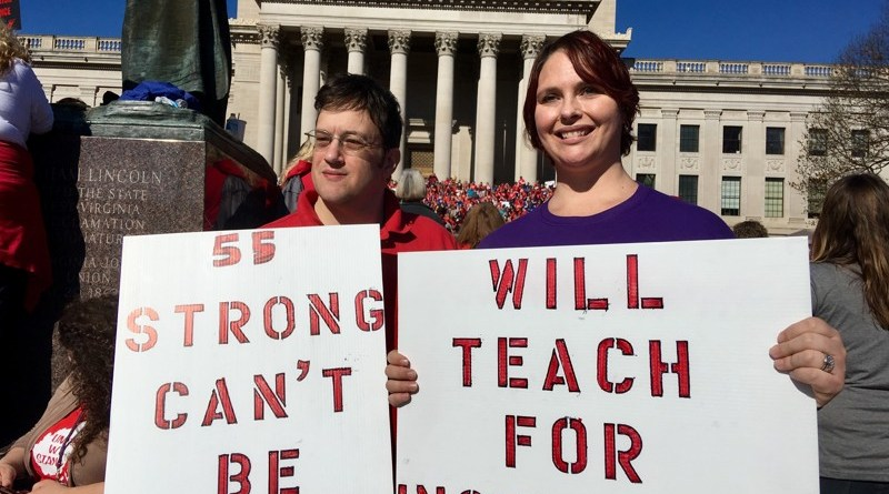 Recent West Virginia strike inspires more activism in Oklahoma