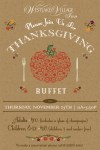 thanksgiving buffet2