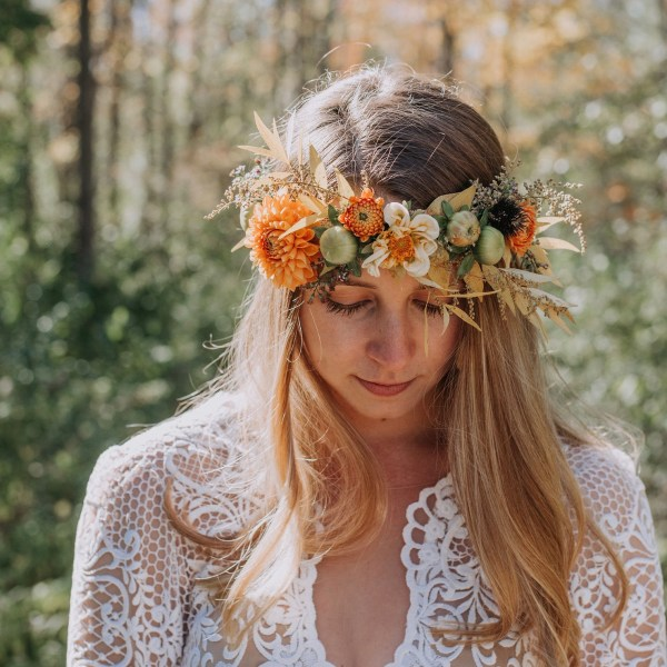 Flower Crown October Vermont