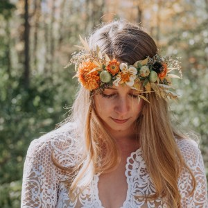 Flower Crown October Vermont
