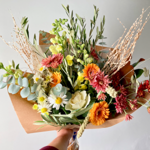 November Large Wrapped Bouquet