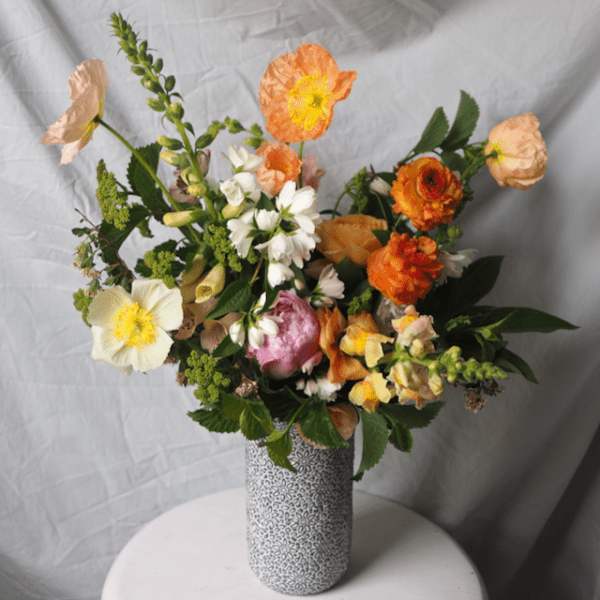 Citrus Tones Large Spring Arrangement