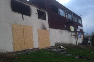 Farnley Sports and Social Club has been targeted by arsonists and vandals