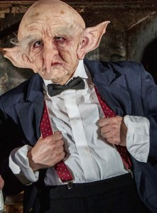 Gobby the Goblin will be taking tickets at the Kirkstall Abbey showings of Harry Potter