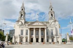 The schools debating contest was held at Leeds Civic Hall