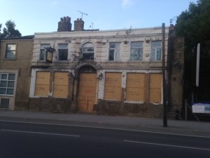 Eyesore: The George IV pub in Kirkstall. Phot: West Leeds Life