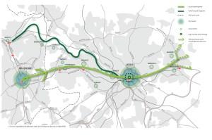 Leeds cycle superhighway