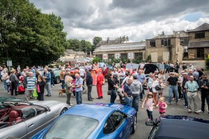 Aston Martin parade Farsley