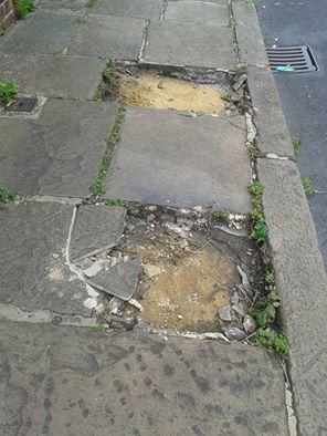 Armley stone theft