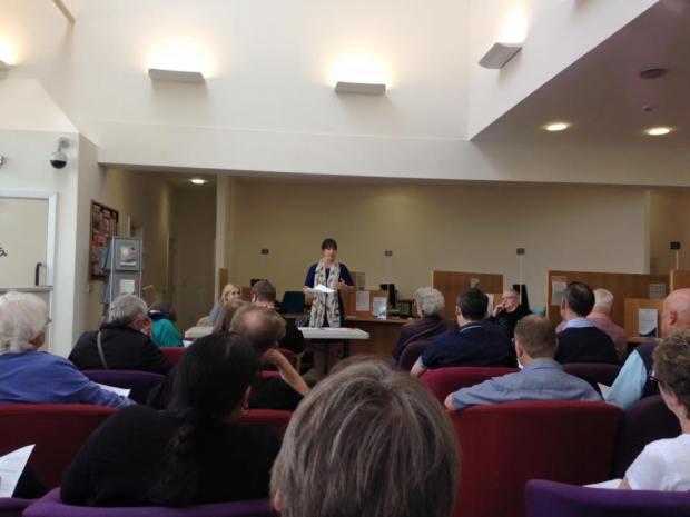 Armley Town Street public meeting Rachel Reeves MP