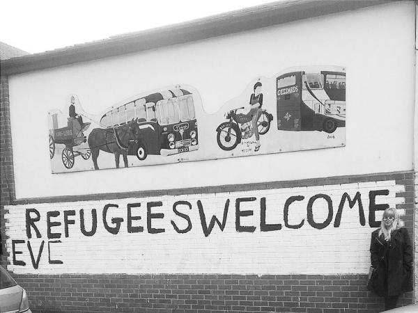 refugees welcome armley