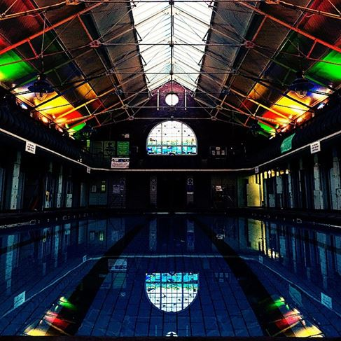 Bramley baths Leeds gay pride