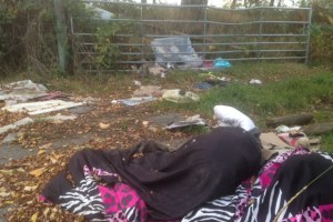 flytipping Gamble Lane Leeds