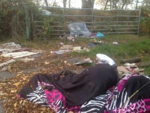 gamble lane dumped rubbish Leeds