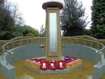 Bramley War memorial.