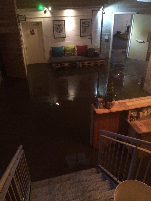 blueberry studios flood