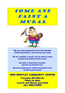 New Wortley Community Centre mural