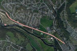 kirkstall roadworks route