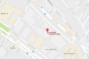 Emmerdale Studio Experience map