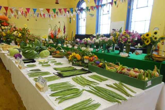 Pudsey Summer Flower and Vegetable show 2016