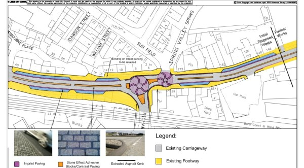 stanningley bottom traffic plan