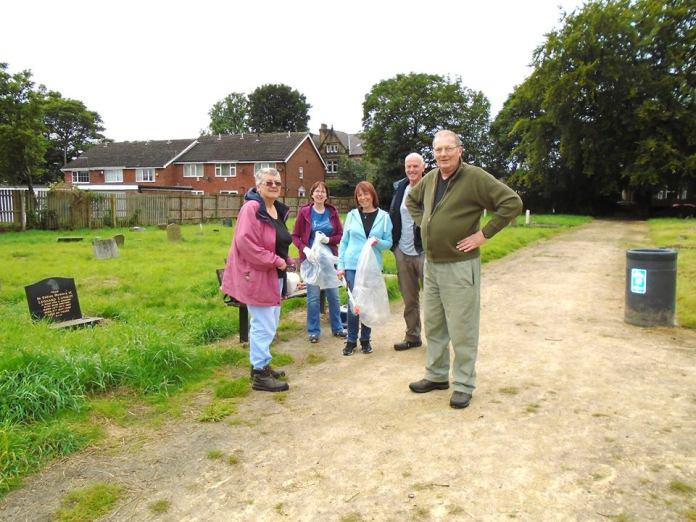 Leeds Lord Mayor to visit Bramley Baptist Church war grave volunteers