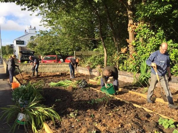 newlay and whitecote community garden
