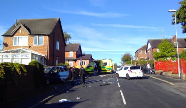Victoria park avenue bramley road accident