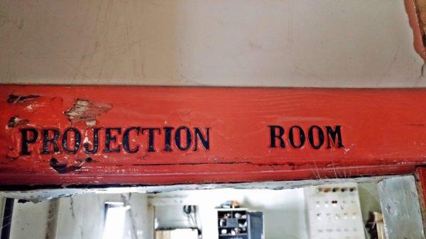 lyric cinema leeds projection room