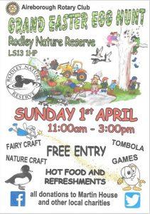 easter egg hunt rodley nature reserve
