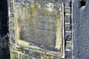 blackett lane calverley plaque 2